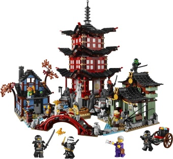 LEGO 70751 Temple of Airjitzu