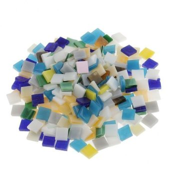 Harga MagiDeal 250pcs Assorted Color Vitreous Glass Mosaic Tiles for DIYCrafts