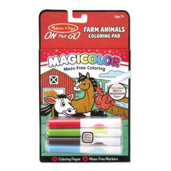Harga Melissa & Doug Magicolor - On the Go Coloring Pad (Animals)