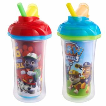 Munchkin Paw Patrol Click Lock Insulated 9oz Straw Cup,2 Pack