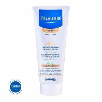 Harga Mustela Nourishing Lotion With Cold Cream (Body) 200ml