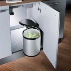 oppein automatic waste bin kitchen cupboard storage under sink trash can