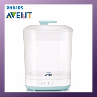 how to use philips avent electric sterilizer