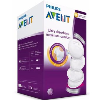 Philips AVENT Day Disposable Breast Pads, White, 100pcs