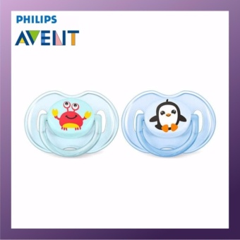 PHILIPS AVENT Orthodontic Soother 0-6M Blue