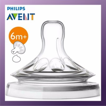 Harga Philips Avent SCF656/23x3 Natural Teat Thick Feed 2pcs Set x 3 Packs