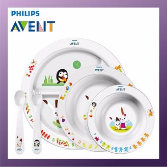 Harga Philips Avent Toddler mealtime set 6M+