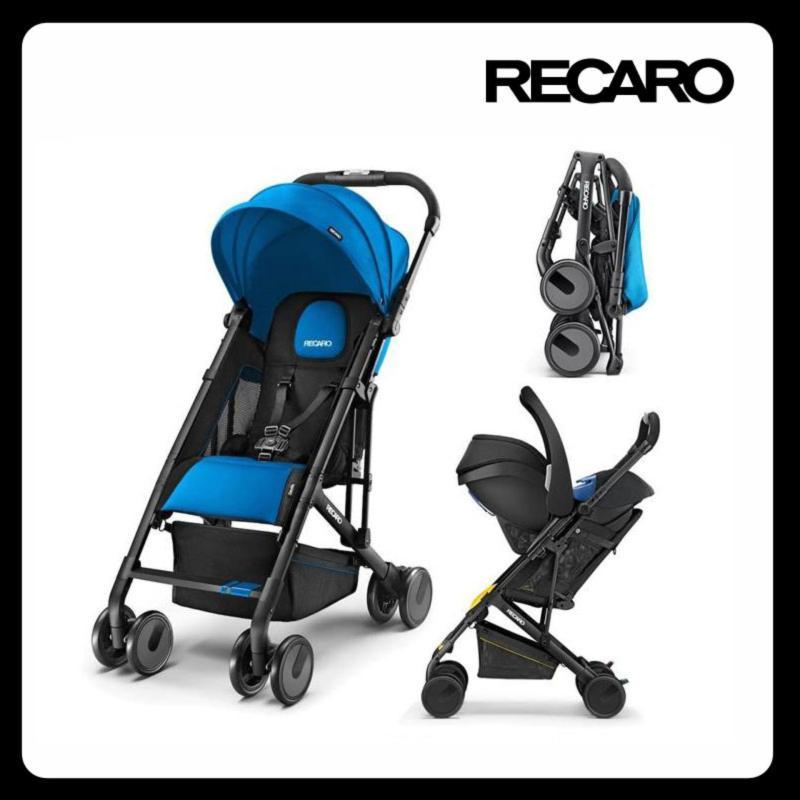 Recaro Easylife Stroller  - Saphir (Black Frame) Singapore