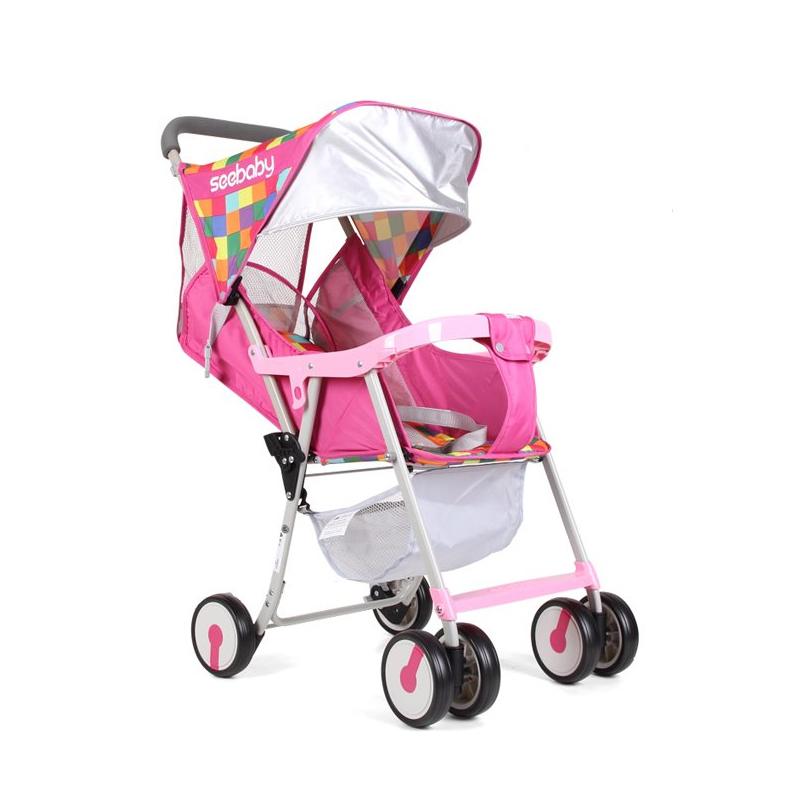 Seebaby QQ2 Lightweight Stroller (Pink) Singapore