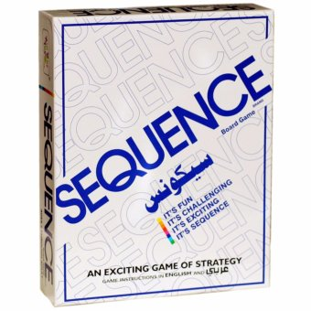 Sequence Board Game Suitable for 2-12 Players Family Game - intl