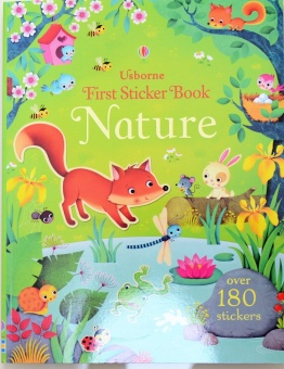 Sticker English baby educational kindergarten book sticker book
