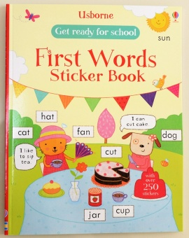 Sticker English baby educational kindergarten sticker stickers BENSE.O