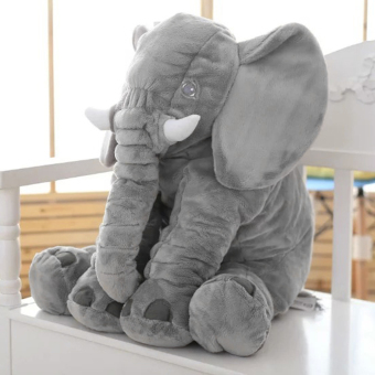 Stuffed Animal Cushion Kids Baby Sleeping Soft Pillow Toy Cute Elephant