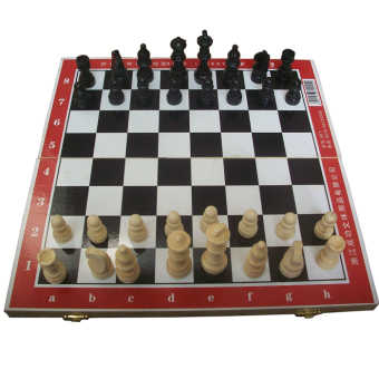 Success wooden puzzle solid international chess