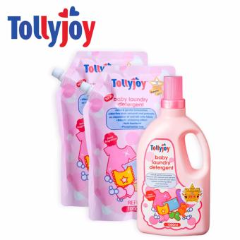 Harga Tollyjoy Baby Laundry Detergent Bottle + 2 Refill Packs