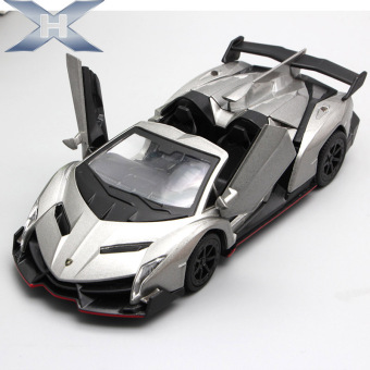 US caused Lamborghini sound and light poison alloy toys door Model