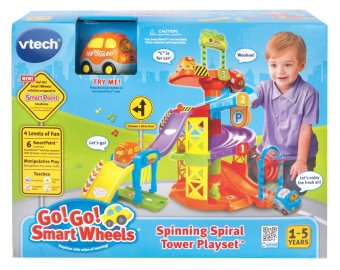 Harga VTech Go! Go! Smart Wheels Spinning Spiral Tower Playset