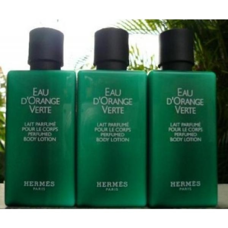 Buy 13.5oz Hermes dOrange Verte Body Lotion (Ten 1.35 Ounce Bottles) - intl Singapore