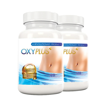 2-Pack OxyPlus 2.0 Flatter Tummy 120 Tablets
