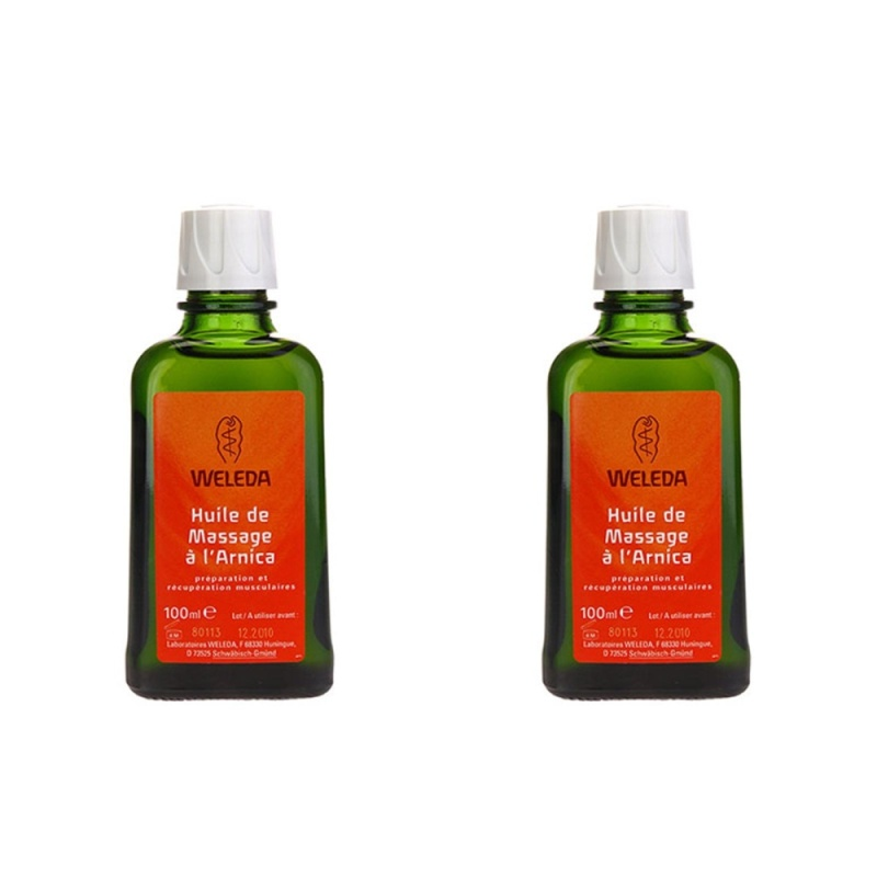 Buy 2 pcs Weleda Arnica Massage Oil 100ml - intl Singapore