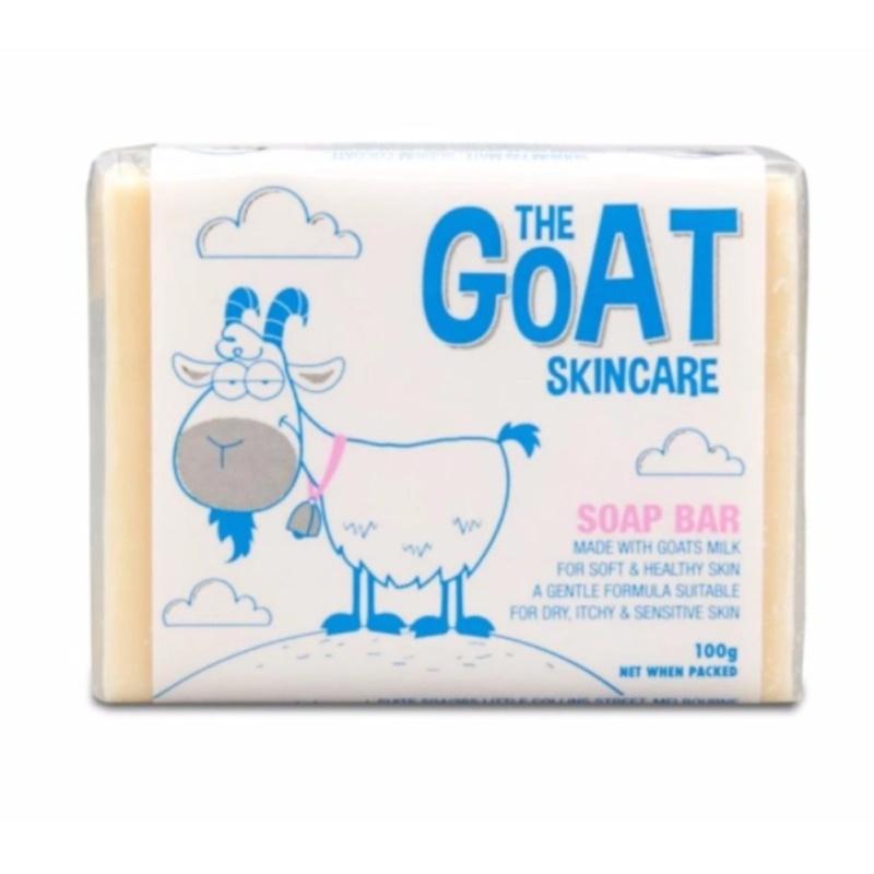 Buy 2 units of Australia The Goat Skincare Soap Bar 100g (Blue) - intl Singapore