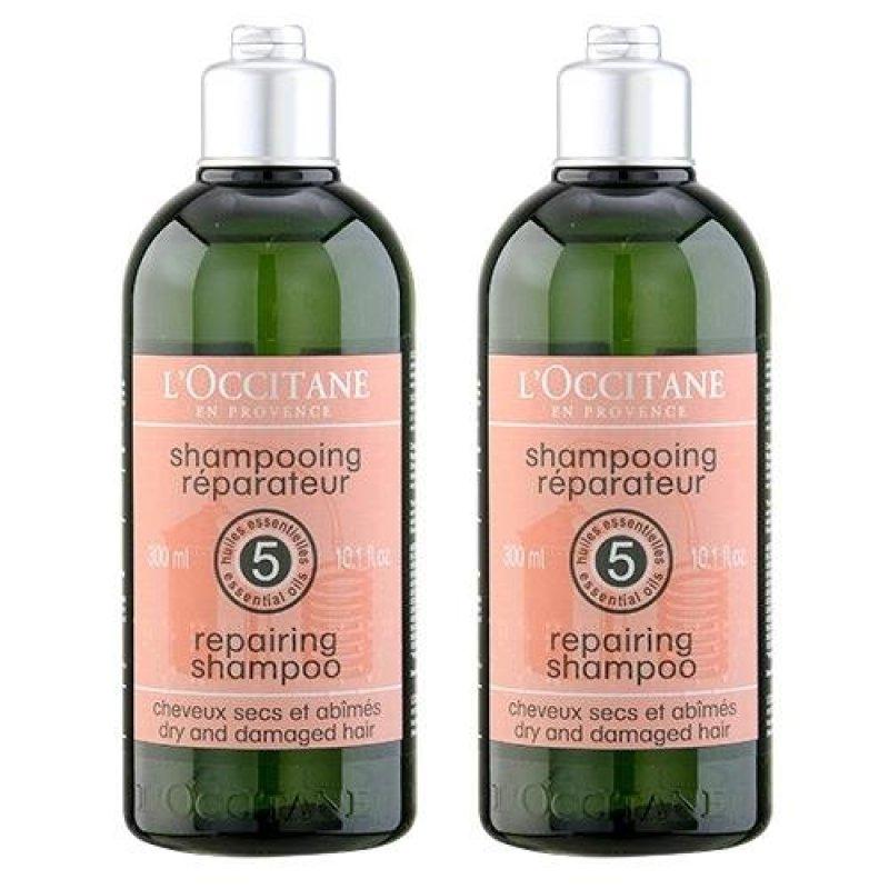 Buy 2 x L'Occitane Repairing Shampoo (Dry and Damaged Hair) 10.1oz, 300ml - intl Singapore