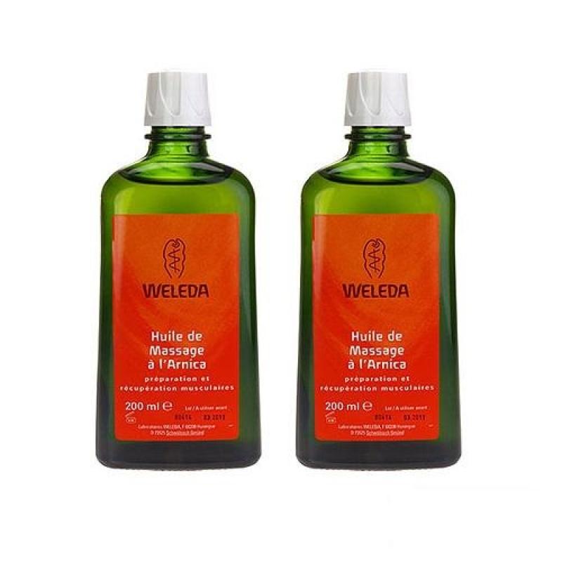 Buy 2 x Weleda Arnica Massage Oil 200ml - intl Singapore