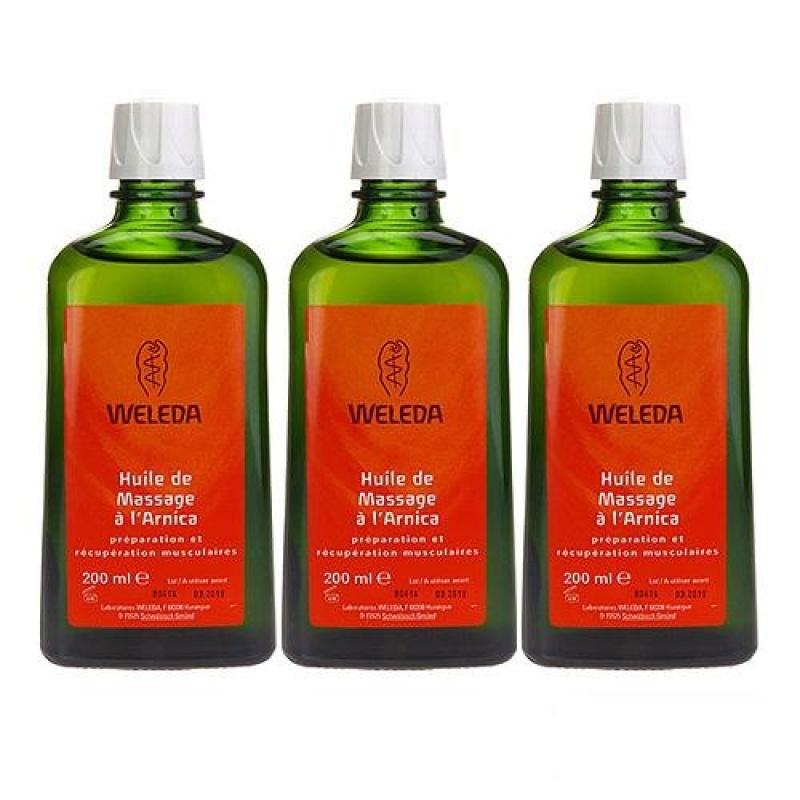 Buy 3 x Weleda Arnica Massage Oil 200ml - intl Singapore