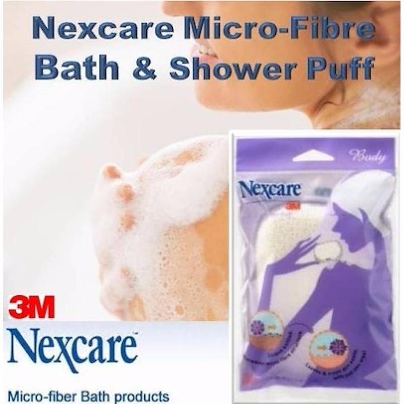 Buy 3M Nexcare Micro-Fibre Bath & Shower Puff Singapore