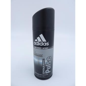 Harga Adidas Men Dynamic Pulse 24 Hours Deodorant Body Spray 150ML X 3Deodorants