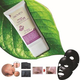 ALIVER Women Blackhead Remover Cleaner Deep Skin Clean Face Mask 50ml - intl - 4