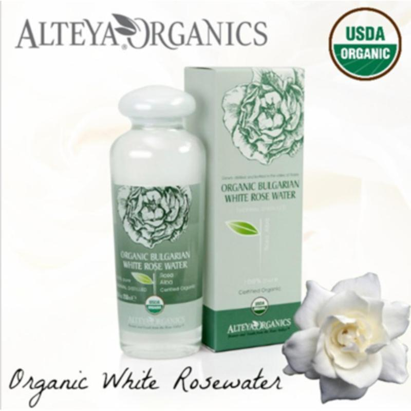 Buy Alteya Organics Organic Bulgarian White Rose Water (Rosa Alba) – 250ml Singapore