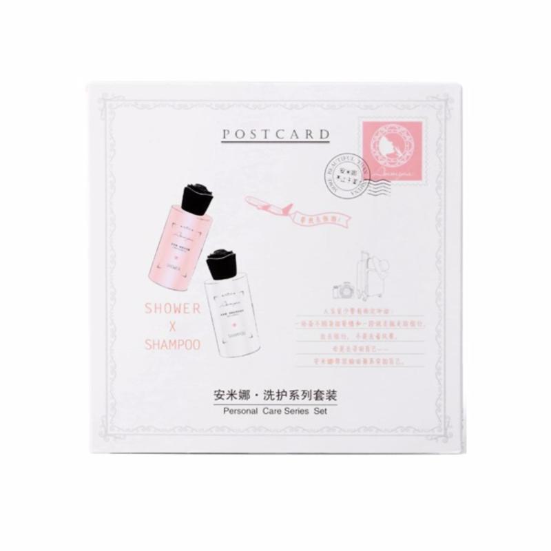 Buy ANMYNA Travel Pack (Charm Shower Gel 50ml+ Silky Shampoo 50ml) Singapore