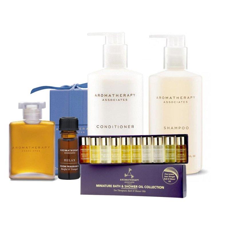Buy Aromatherapy Associates Bath Oil+Shampoo+Conditioner+Mini Collection+Fragrance - intl Singapore