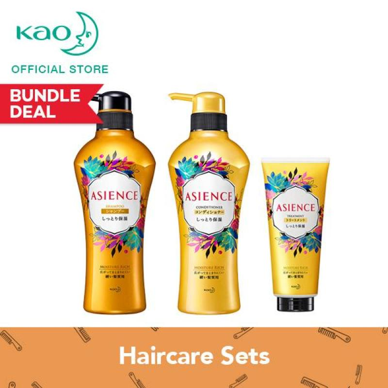 Buy Asience Moisture Rich Shampoo + Conditioner + Treatment Singapore