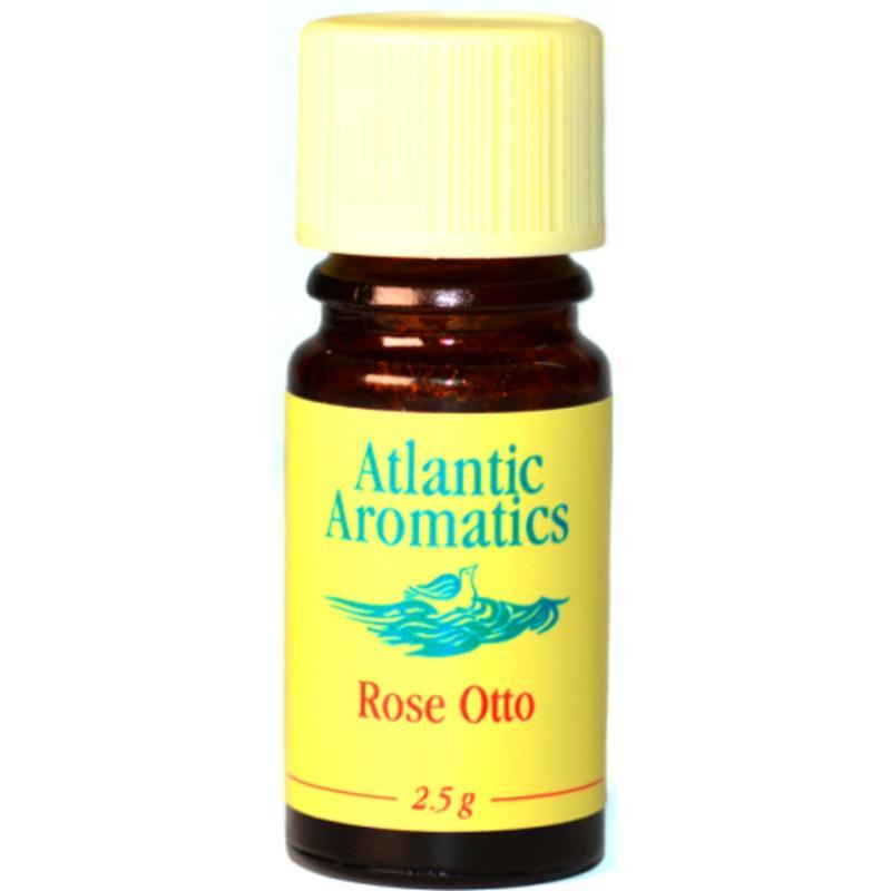Buy Atlantic Aromatics Rose Otto Essential Oil 2.5g – Rosa Damascena Flower Oil Singapore