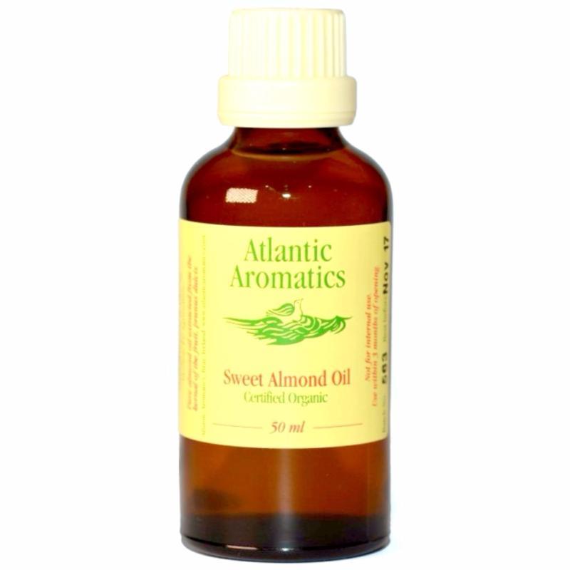 Buy Atlantic Aromatics Sweet Almond Oil - Organic & Cold Pressed - 50mL Singapore