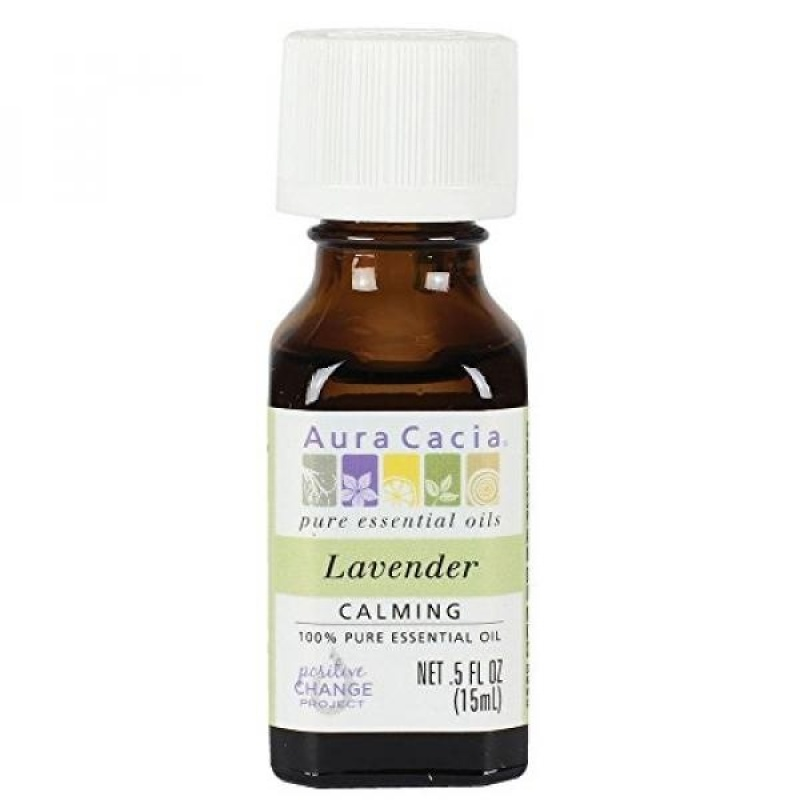 Buy Aura Cacia Essential Oil, Lavender, 0.5 Fluid Ounce - intl Singapore