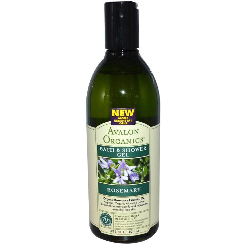 Buy Avalon Organics Rosemary Bath & Shower Gel Singapore