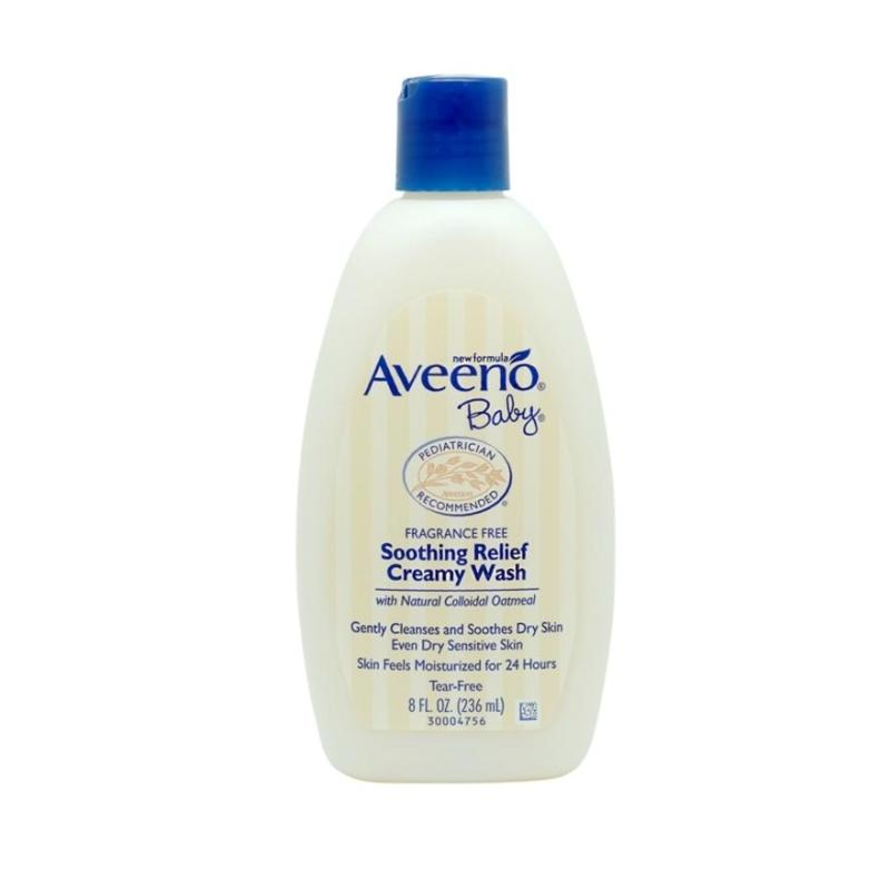 Buy AVEENO BABY Soothing Relief Creamy Wash 236m Singapore