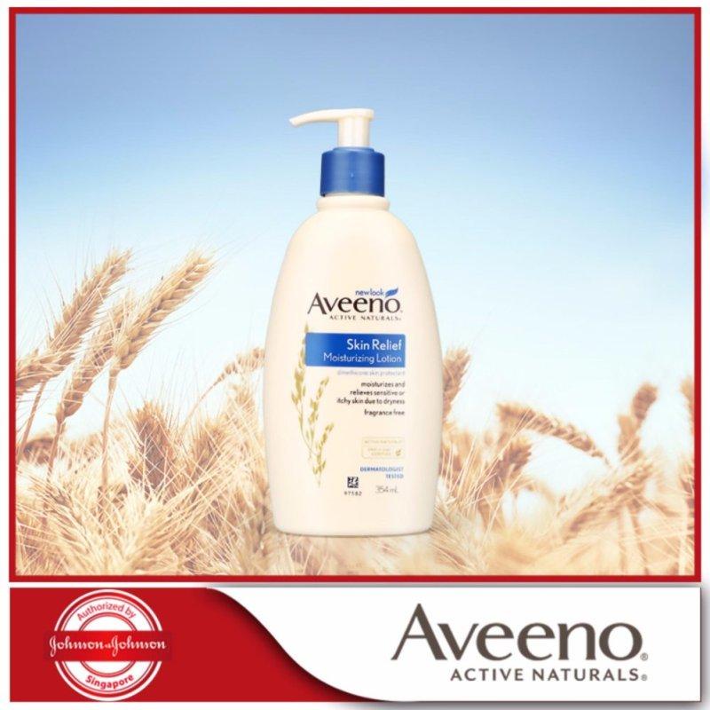 Buy Aveeno Moisturizing Lotion Skin Relief 24 Hr 354ml Singapore