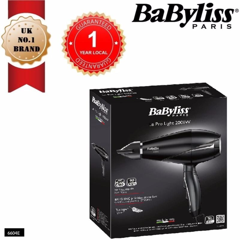 Buy BABYLISS 6604E DRYER PRO LIGHT 2000 Singapore