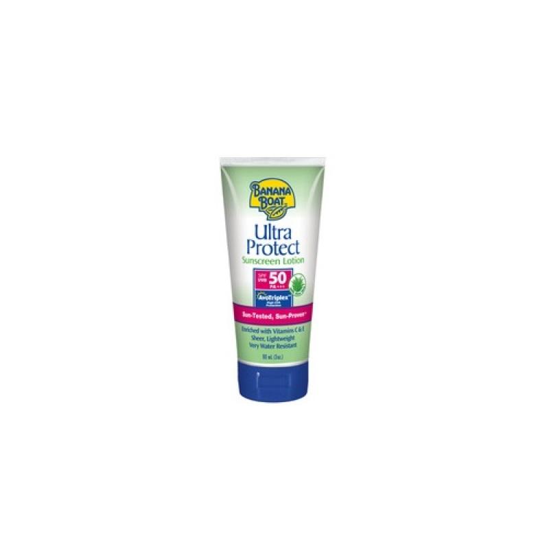 Buy Banana Boat Ultra Protect Spf50 Sunscreen Lotion 90ml Singapore