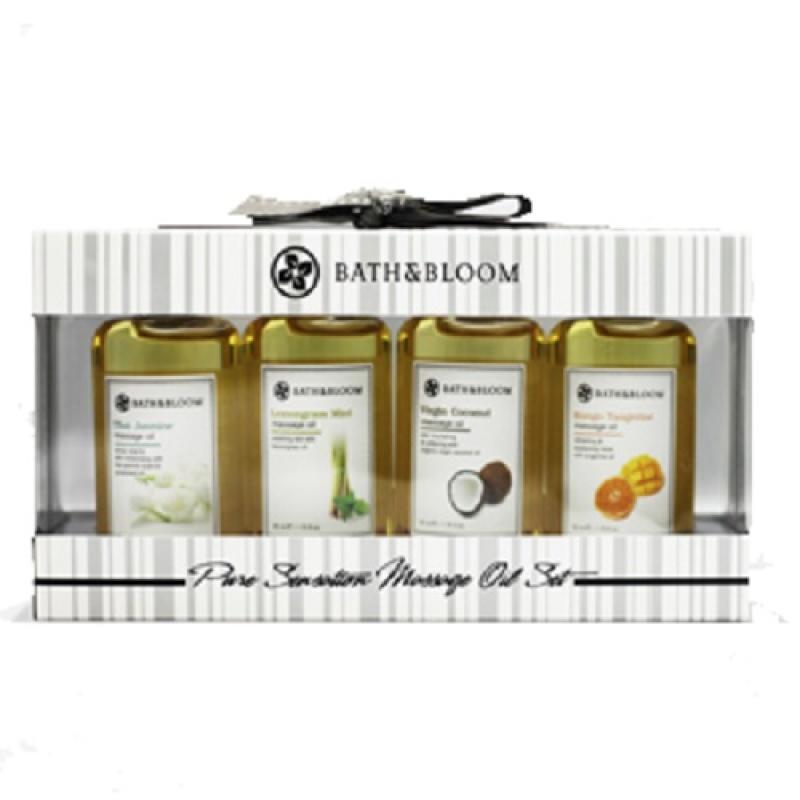 Buy Bath and Bloom Pure Sensation Massage Oil Set Singapore