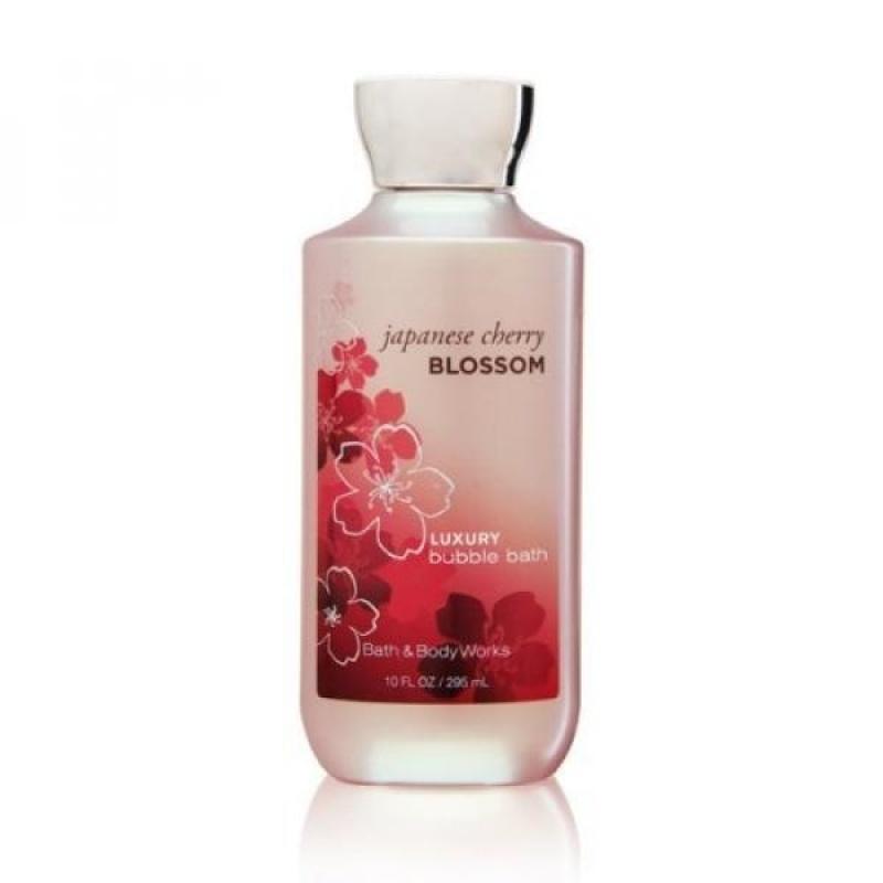 Buy Bath Body Works Japanese Cherry Blossom 10 oz Luxury Bubble Bath - intl Singapore