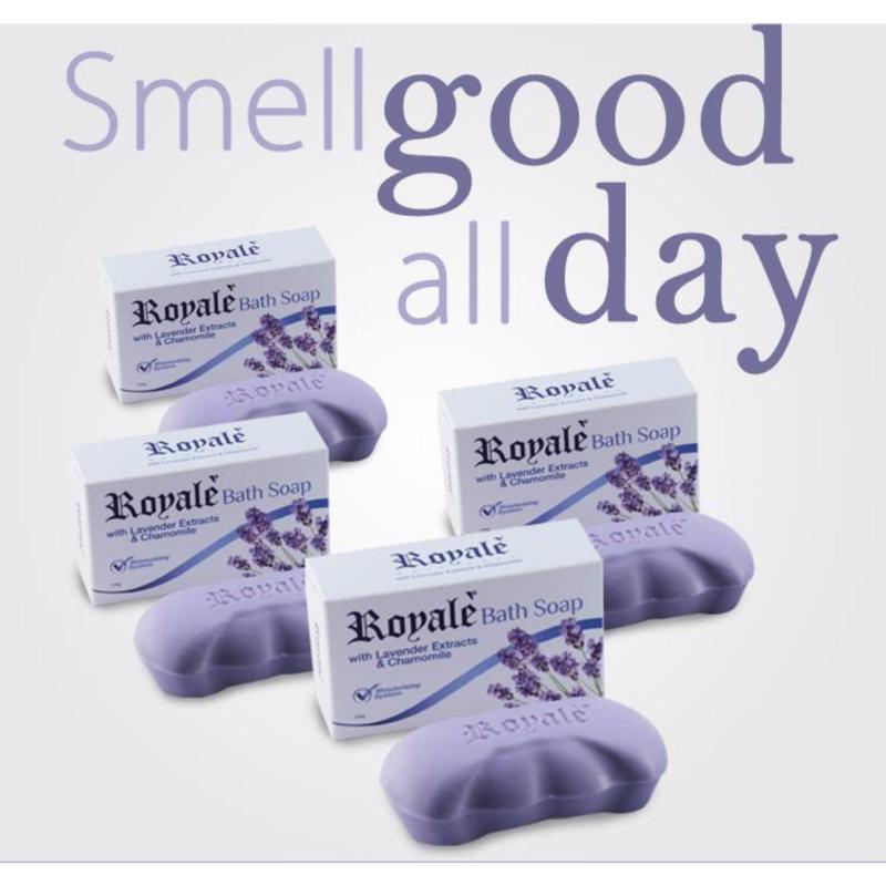 Buy Bath Soap – Lavender & Chamomile (4 Packs) Singapore