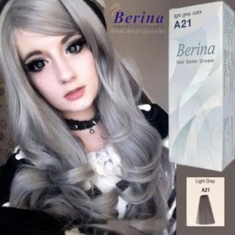 Berina A21 Light Grey Permanent Hair Dye