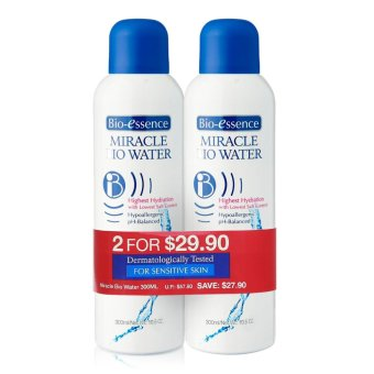 Harga Bio-essence Miracle Bio Water 300ml Twin Pack