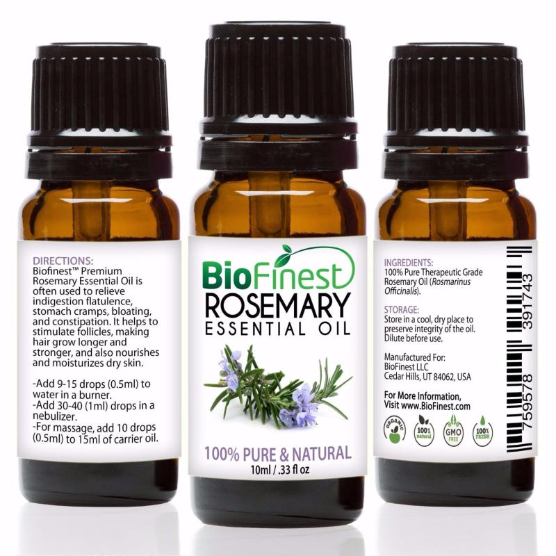 Buy Biofinest [2Packs] Rosemary Essential Oil (100% Pure Therapeutic Grade) 10ml Singapore