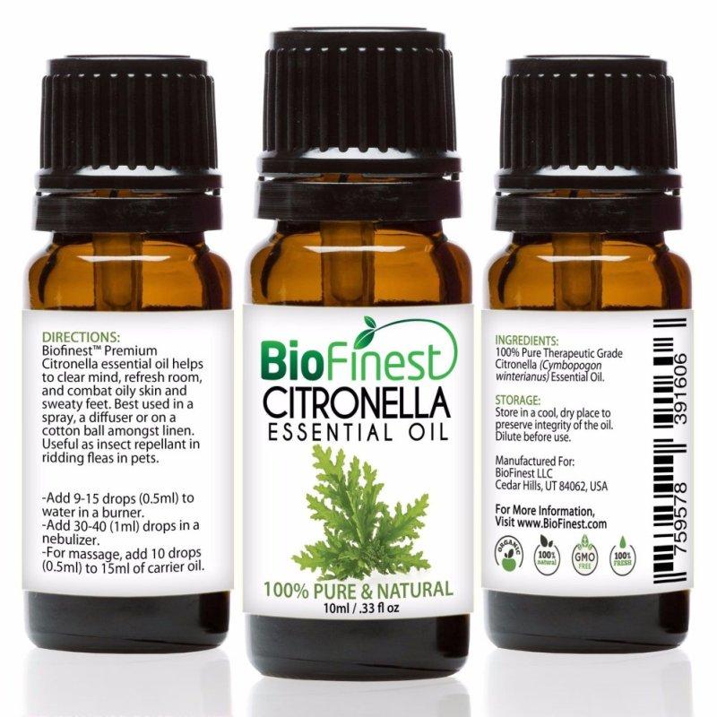 Buy Biofinest Citronella Essential Oil (100% Pure Therapeutic Grade) 10ml Singapore
